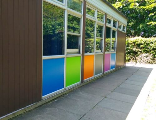 Bespoke coloured panels